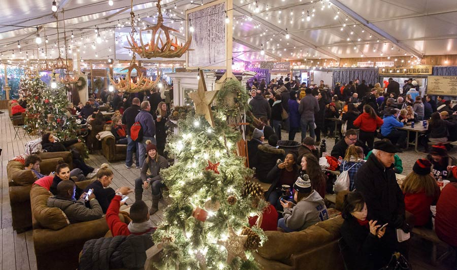 Winterfest an der Delaware Riverfront