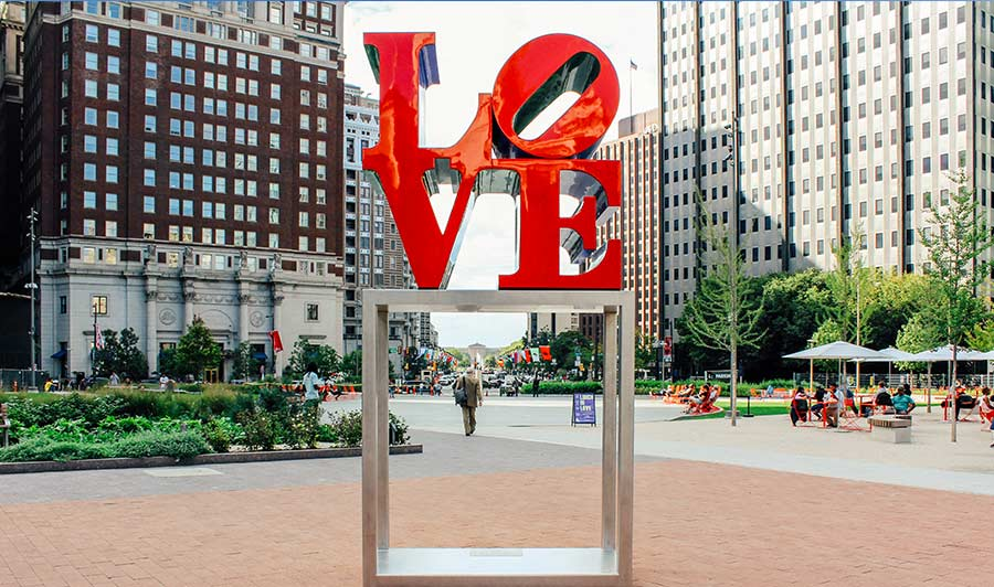 Love Sculpture Philadelphia