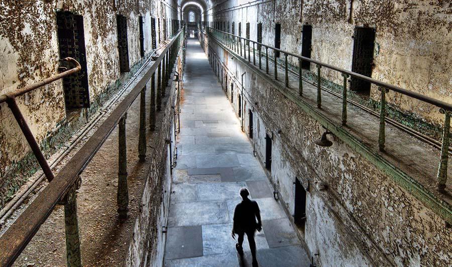 Eastern State Penitentiary - das älteste Gefängnis der USA