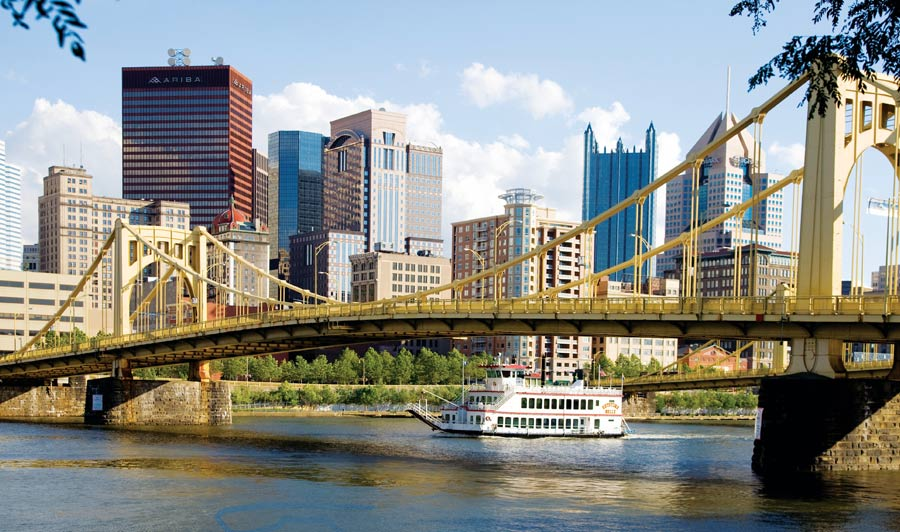 Roberto Clemete Bridge | Pittsburgh und Gateway Clipper