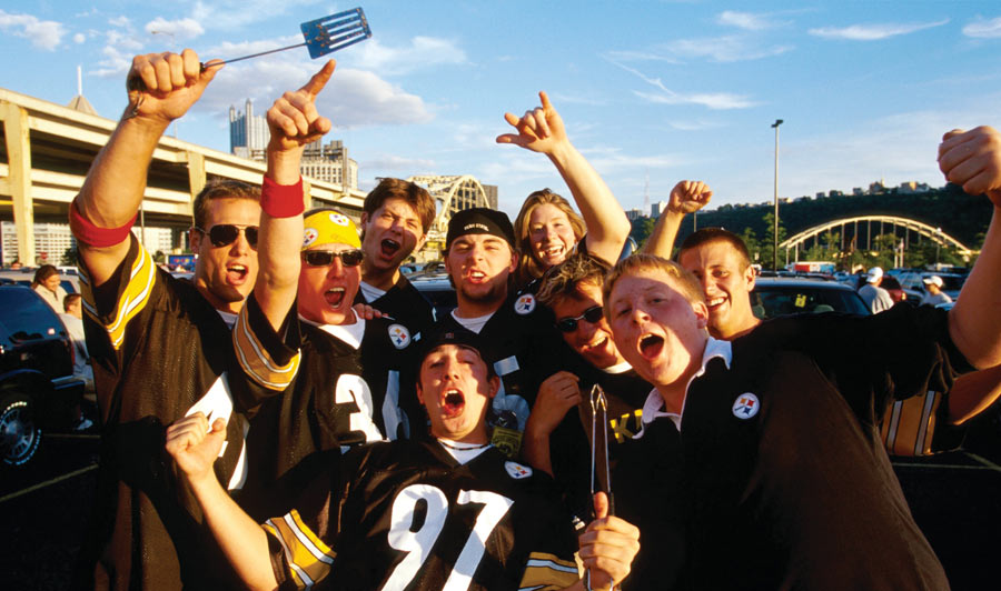 Pittsburgh Steelers Fans.