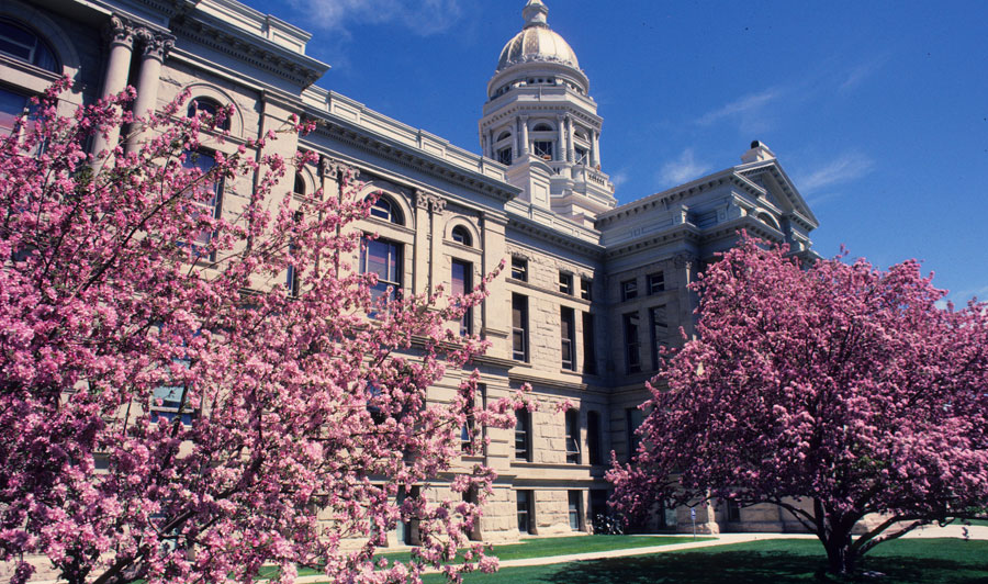 Wyoming State Capitol Building, Cheyenne, Wyoming