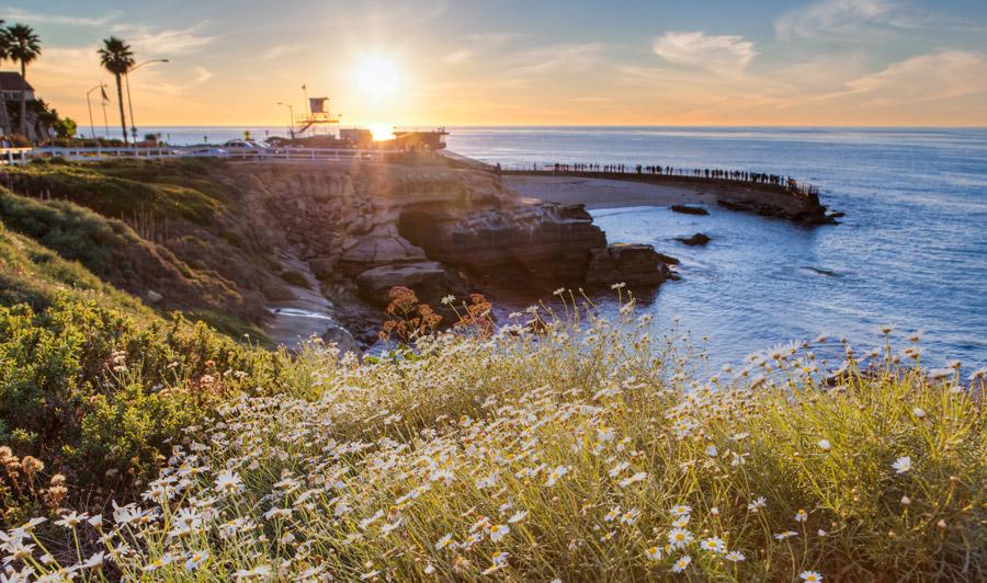 San Diego Küste