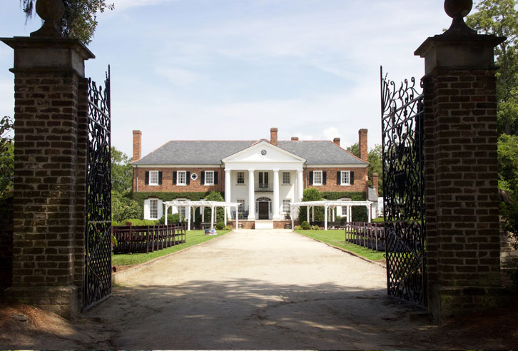 Fackeln im Sturm: Boon Hall Plantation, South Carolina