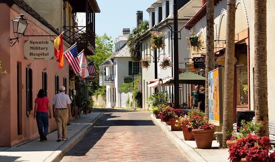Die älteste Straße in der ältesten Stadt: St. Augustine