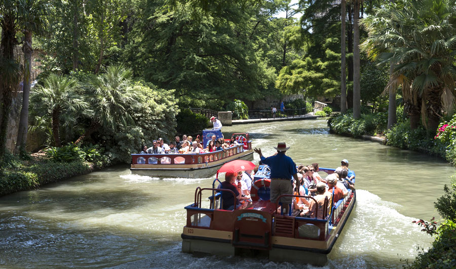San Antonio River Walk und Sightseeing Bootstour