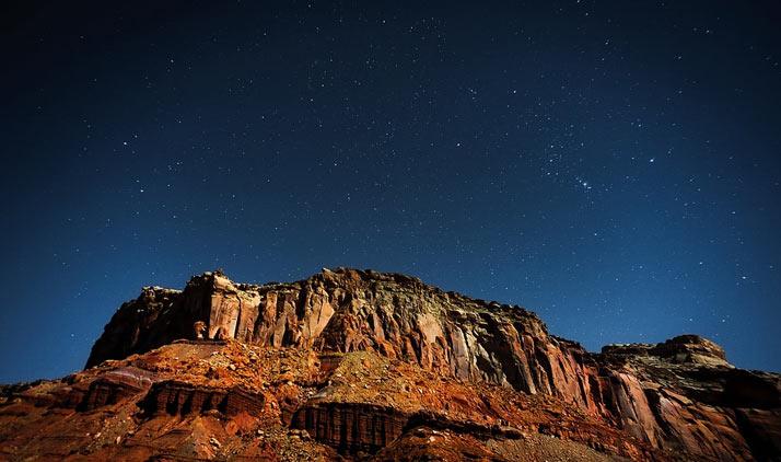 Canyonlands Nationalpark: Unendlich viele Sterne am Nachthimmel