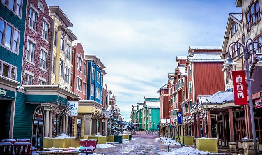 Park City in Utah