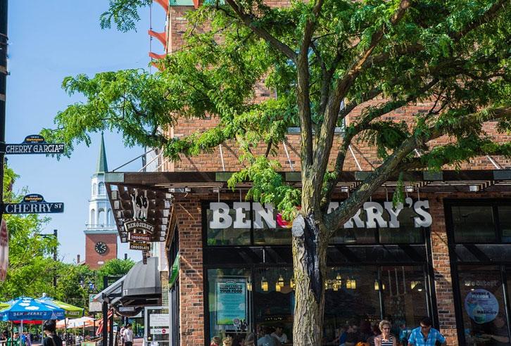 Ben & Jerry's ist in Vermont zu Hause!
