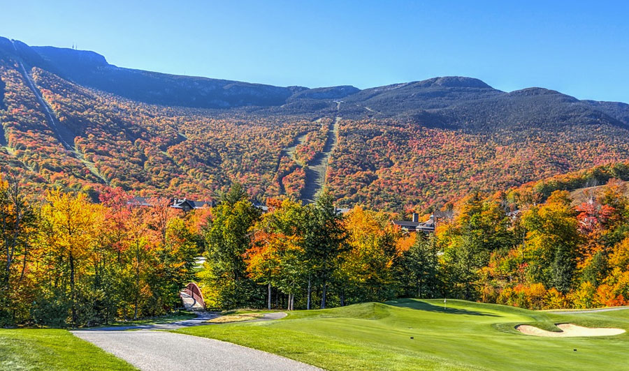 Indian Summer in Vermont