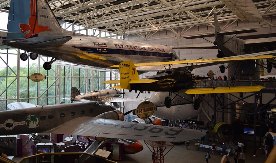 National Air and Space Museum & International Spy Museum | National Air & Space Museum