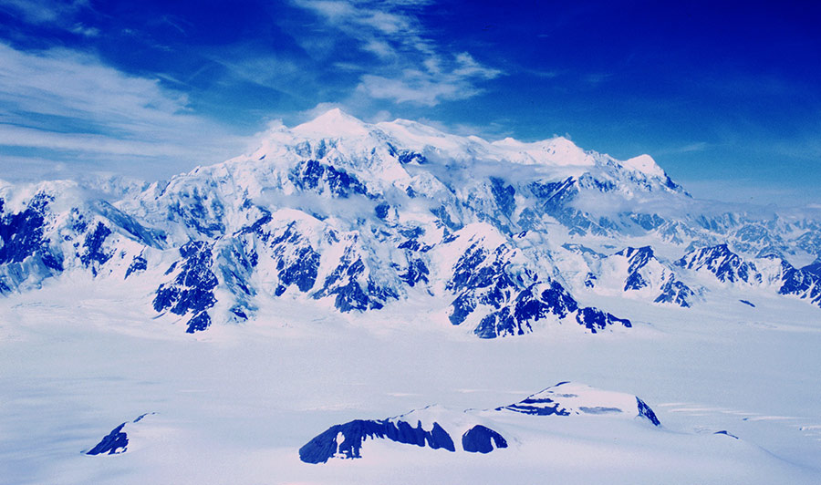 Mount Logan im Kluane Nationalpark, Yukon