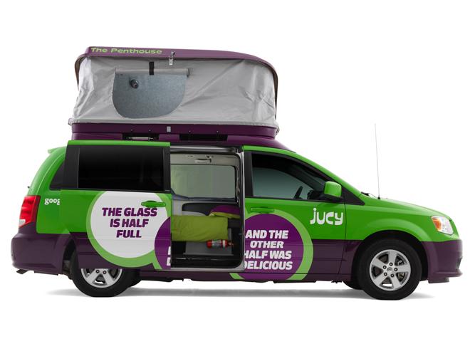 Jucy Rentals Der Campervan Spezialist