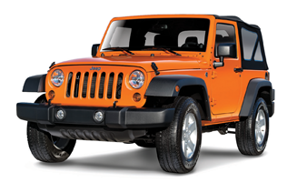 Jeep Wrangler 2türig