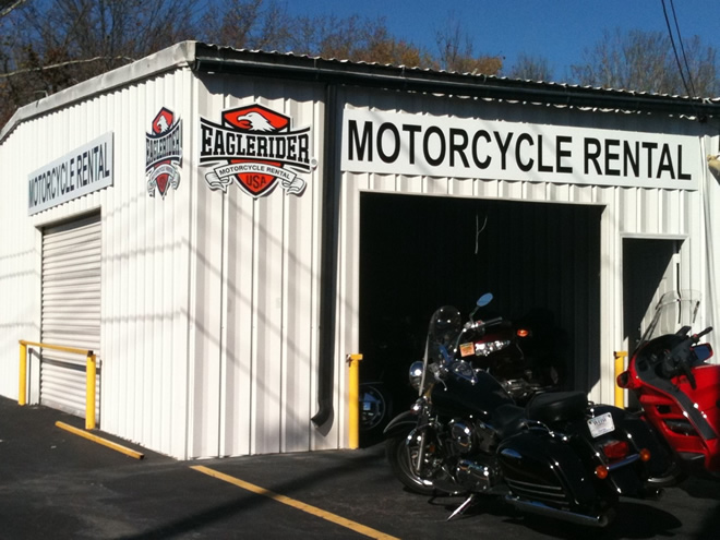 EagleRider Motorrad Station in Atlanta BMW, Honda