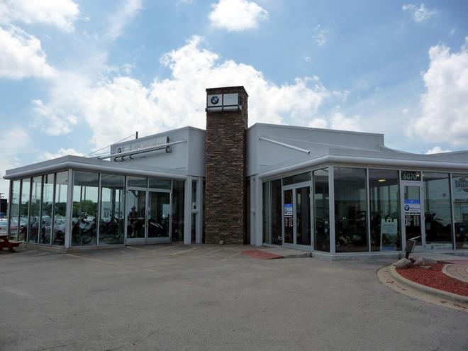 EagleRider Motorrad Station in Chicago BMW