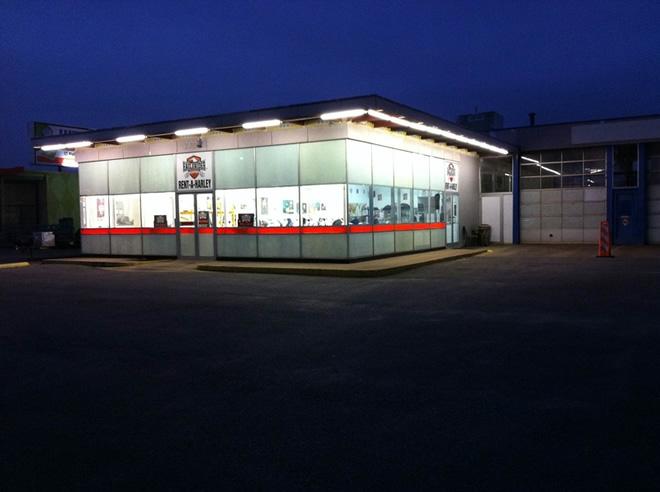 EagleRider Motorrad Station in Dallas