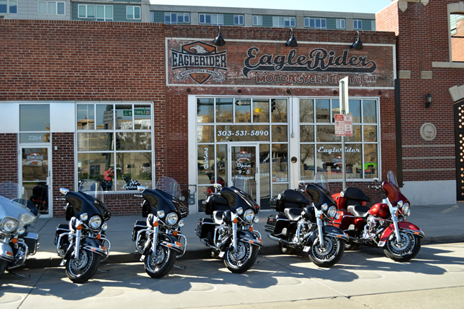 EagleRider Motorrad Station in Denver