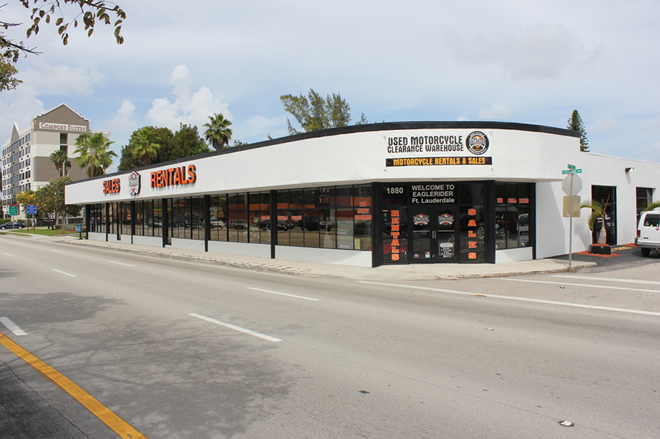 EagleRider Motorrad Station in Fort Lauderdale