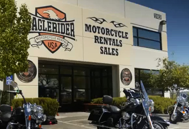EagleRider Motorrad Station in Las Vegas