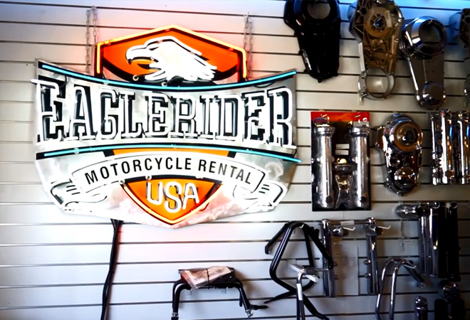 EagleRider Motorrad Station in San Diego