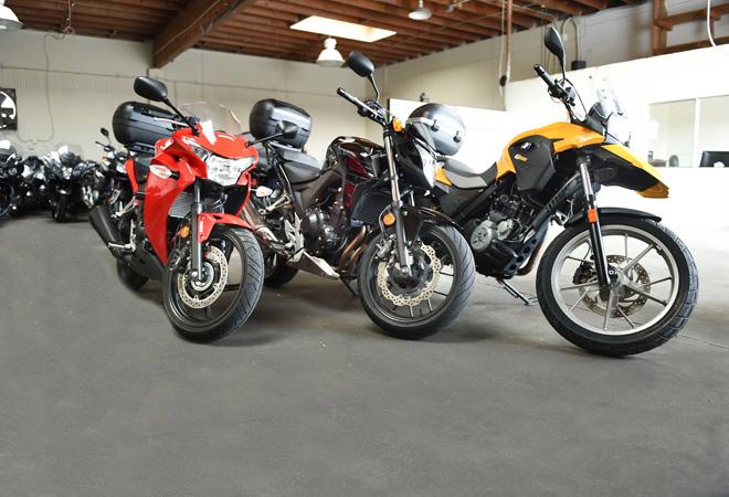 EagleRider Motorrad Station in San Francisco BMW Honda