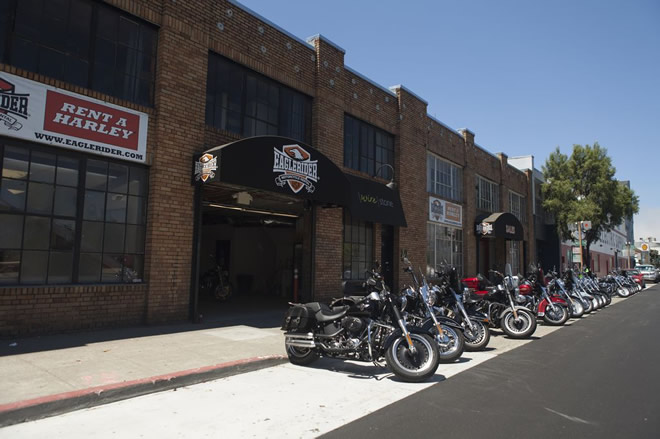 EagleRider Motorrad Station in San Francisco