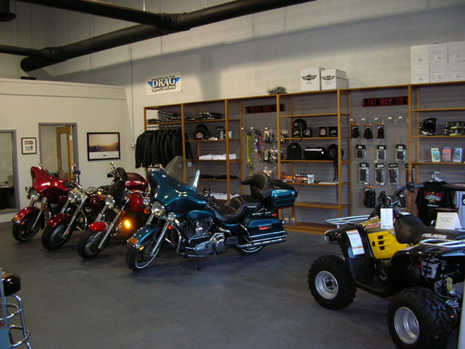 EagleRider Motorrad Station in Washington D.C.
