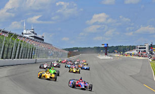 IndyCar Racing - ABC Supply 500