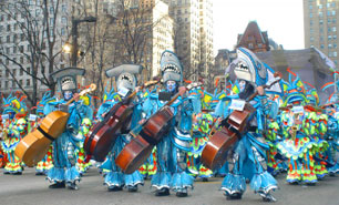 New Year's Day Mummers Parade