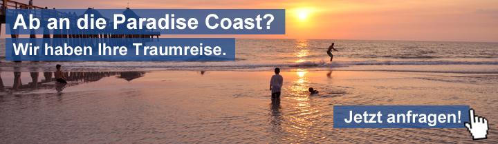 Urlaub an der Paradise Coast