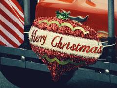 Reisen zur Weihnachtszeit