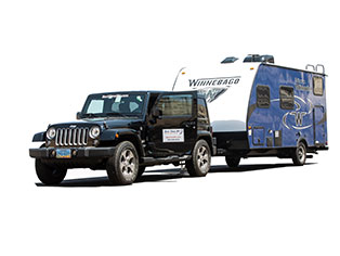 Jeep & Trailer von Best Time RV