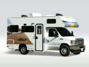 Motorhome Compact Plus C21 von Cruise America