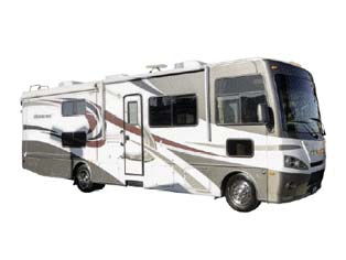 Motorhome MA33 (32-34 ft) von Mighty Campers